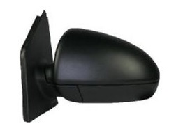 Smart Fortwo [07 on] Complete Cable Adjust Wing Mirror Unit - Black