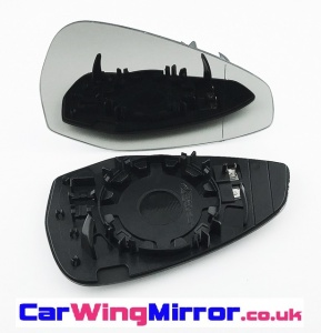 Audi A5 [2016 on] Clip In Heated Wing Mirror Glass