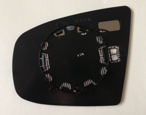 BMW X5 [06-13] Clip In Heated Wing Mirror Glass - Silver