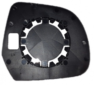 Dacia Duster [13-14] Clip In Wing Mirror Glass