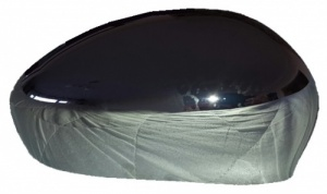 Fiat 500  [04 on] Wing Mirror  Cover - Chrome