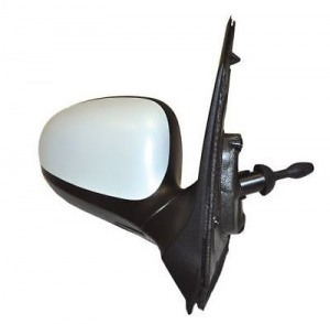 Ford Ka  On Complete Manual Cable Adjust Wing Mirror Unit Primed