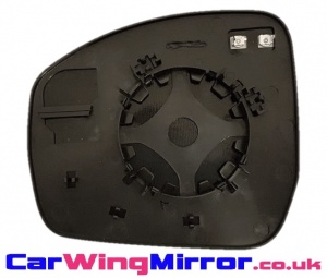 Range Rover [13 on] Clip In Heated Wing Mirror Glass - Blue Tinted