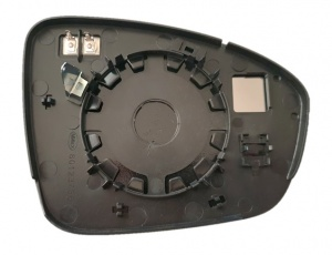 Renault Megane [16 on] Clip In Heated Wing Mirror Glass With Baseplate