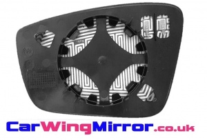 Seat Toledo [13 on] Clip In Heated Wing Mirror Glass