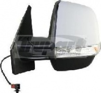 Vauxhall Combo Van [12 on] Complete Electric Adjust Wing Mirror Unit - Primed