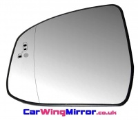 Ford Focus [11-18] Clip In Heated & Blind Spot Monitoring Assist Wing Mirror Glass