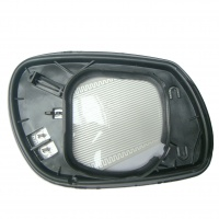 Mazda 6 [02-07] Clip In Heated Wing Mirror Glass - Square Fitting