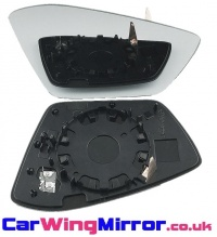 Skoda Superb [15 on] Clip In Heated Wing Mirror Glass