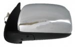 Toyota Hilux [05-11] Complete Electric Adjust Wing Mirror Unit - Chrome