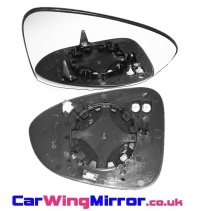 Vauxhall Zafira C Tourer [2012 on] Clip In Heated Wing Mirror Glass