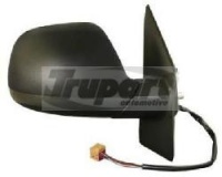 VW Transporter Van T5.1 [10-15] Complete Electric Heated Wing Mirror Unit - Black