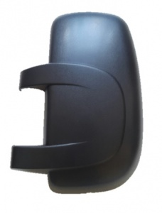 Vauxhall Movano Van [03-10] Wing Mirror Cover - Black Textured