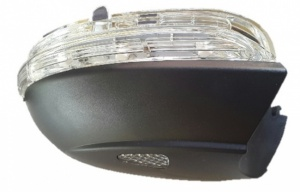 VW Passat CC [08 on] - Integrated wing mirror Indicator & lower cover with puddle lamp