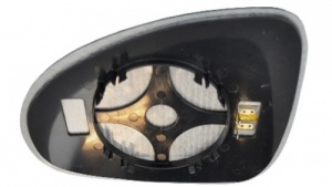 VW Touareg [11 on] Clip In Heated Wing Mirror Glass