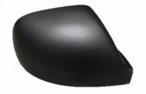 VW Transporter Van T6 - [15 on] Wing Mirror Cover - Black Textured