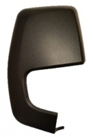 Ford Transit Custom [2013 on] Wing Mirror Cover Cap - Black Textured
