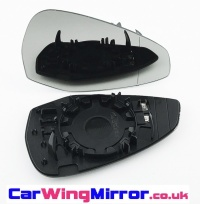 Audi A4 [2016 on] Clip In Heated Wing Mirror Glass