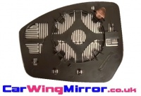 Range Rover Evoque [14 on] Clip In Heated Wing Mirror Glass - Silver